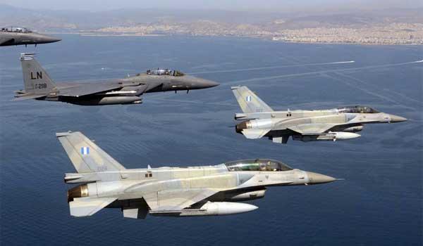 Ελληνικά F16 πέταξαν πάνω από την Κύπρο