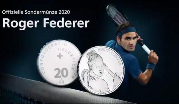 Ο Ρότζερ Φέντερερ θα γίνει... νόμισμα