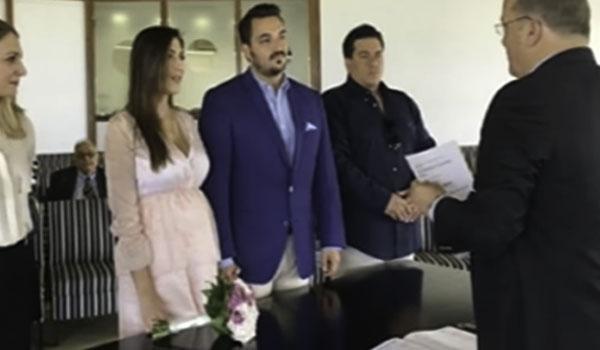Παντρεύτηκε η Φλορίντα Πετρουτσέλι και ο Άρης Γούτος!