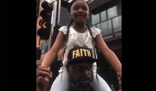 Τζορτζ Φλόιντ και το συγκινητικό βίντεο με την κόρη του. Ο μπαμπάς άλλαξε τον κόσμο