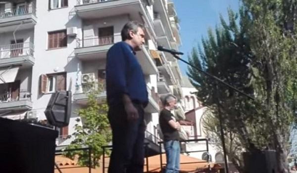 Σάλος με Βουλευτή σε συλλαλητήριο του ΠΑΟΚ - να καεί η που@@@@ η Βουλή