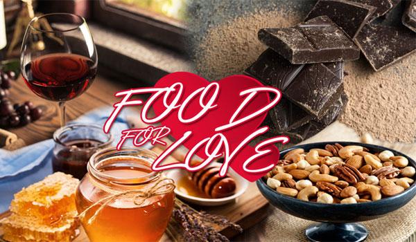 Άγιος Βαλεντίνος: Οι τροφές που ανεβάζουν την ερωτική διάθεση!