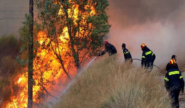 Πυρκαγιά στην Αρκαδία - Καίγεται δάσος