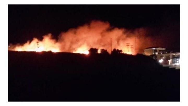 Νύχτα αγωνίας: Σε ένα μέτωπο περιορίστηκε η μεγάλη φωτιά στην Εύβοια