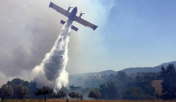 Ολονύχτια μάχη με τις φλόγες στο Λουτράκι - Συνεχείς αναζωπυρώσεις