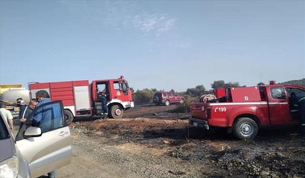 Από ζάντα φορτηγού η πυρκαγιά στην Εύβοια - Συνελήφθη 61χρονος