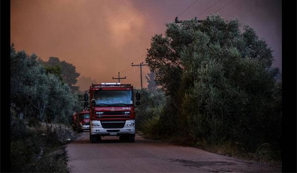 Εύβοια: Ο αδελφός του τραυματία πυροσβέστη μιλά για τη μάχη με τις φλόγες