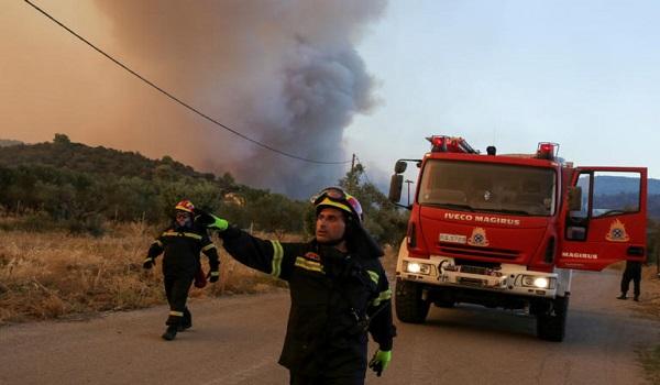 Τι δήλωσε ο βασικός ύποπτος για την μεγάλη φωτιά στην Εύβοια. Βίντεο
