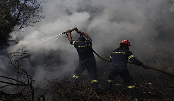 Εύβοια: Μάχη στο μέτωπο του Πλατανιά - Συνεχείς αναζωπυρώσεις. Στάχτη χιλιάδες στρέμματα
