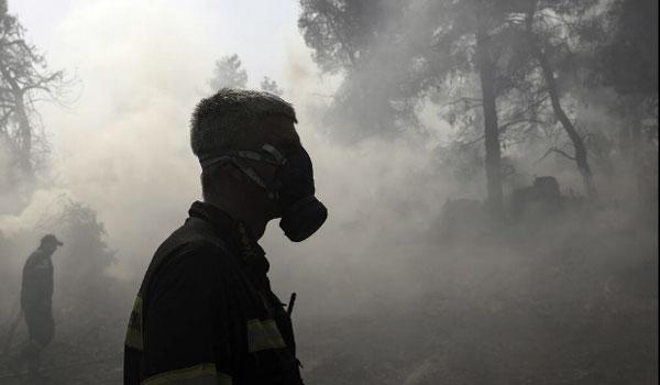 Εύβοια: Σαφείς ενδείξεις για εμπρησμό - Στα όρια του καταφυγίου άγριων ζώων η μάχη με τις φλόγες