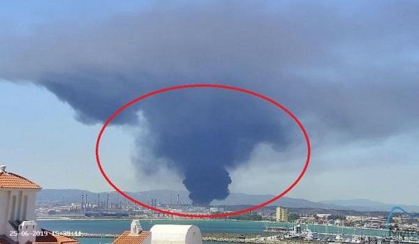 Μεγάλη φωτιά σε εργοστάσιο πετροχημικών στην Ισπανία