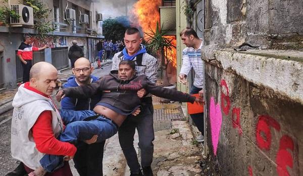 Φωτιά σε κτήριο στην Κυψέλη - Απομάκρυναν 3 άτομα