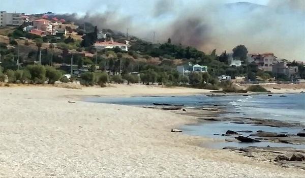 Έσβησε η φωτιά στο Λαγονήσι - Πάρα πολύ κοντά στα σπίτια. Από τύχη δεν θρηνήσαμε θύματα