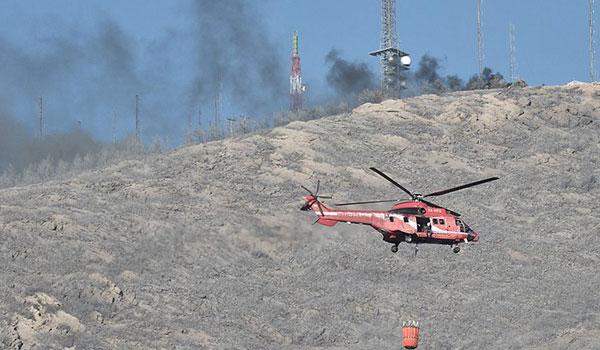 Καλύτερη εικόνα από την πυρκαγιά στον Υμηττό - Δεν υπάρχει ανησυχία για το δάσος Καισαριανής