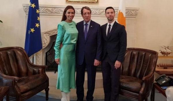 Το δημόσιο ευχαριστώ Αναστασιάδη στη Φουρέιρα για τη θέση της στη Eurovision