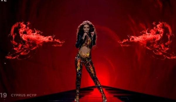 Ελένη Φουρέιρα: Με διάφανη ολόσωμη φόρμα στη Eurovision 2019