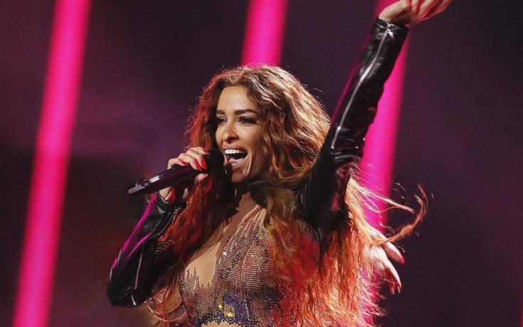 Eurovision 2019: Με ρούχο κεντημένο με 250.000 Swarowski στον τελικό η Φουρέιρα!