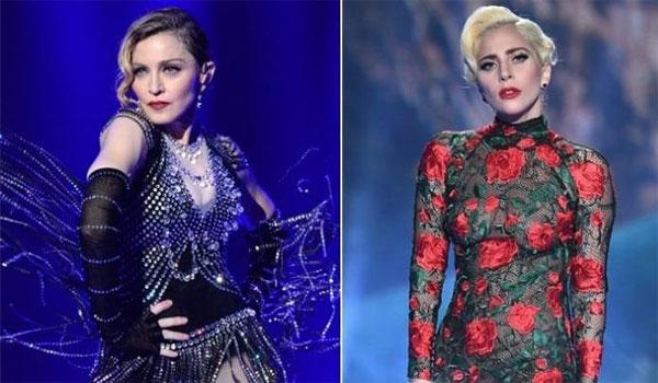 Στα μαχαίρια ξανά  Madonna και Lady Gaga!