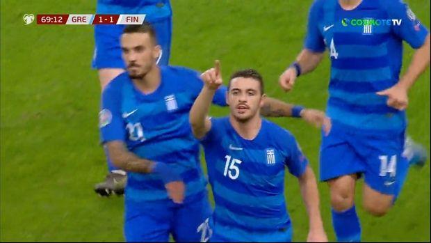 Ελλάδα - Φινλανδία 2 - 1. Η Εθνική πανηγύρισε τρίτη σερί νίκη