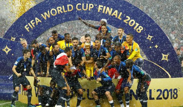 Μουντιάλ 2018: H Γαλλία στην κορυφή του ποδοσφαιρικού κόσμου!