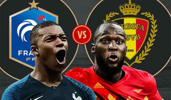 Μουντιάλ 2018 #FRABEL: Γαλλια - Βελγιο 1 - 0, τελικό. Η Γαλλία στον τελικό του Μουντιάλ!