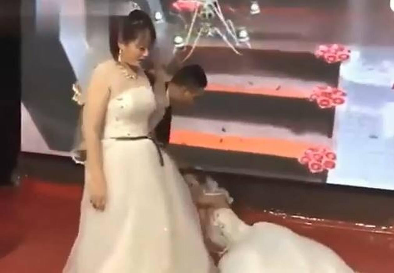 Κακός χαμός σε γάμο! Έφυγε έξαλλη η νύφη. Άφωνοι οι καλεσμένοι