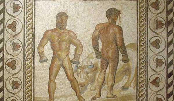 Γάντια του μποξ ηλικίας ... 2.000 ετών! Bίντεο