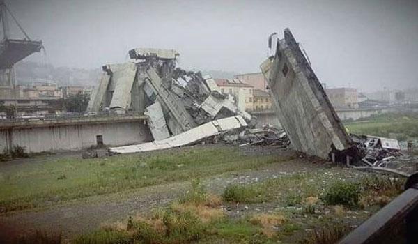 Ιταλία: Κατέρρευσε γέφυρα σε αυτοκινητόδρομο - Δεκάδες νεκροί. Συγκλονιστικές εικόνες