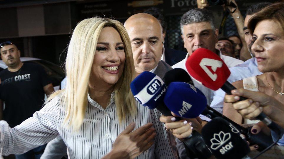 Γεννηματά: Οι πολίτες ψήφισαν για να τελειώσει η θητεία του ΣΥΡΙΖΑ