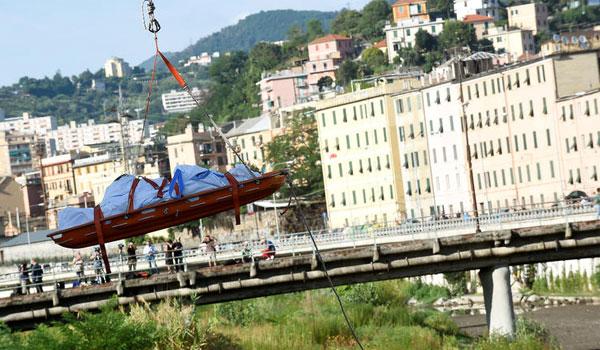 Εθνικό πένθος στην Ιταλία: Σε έκτακτη ανάγκη για έναν χρόνο η Γένοβα