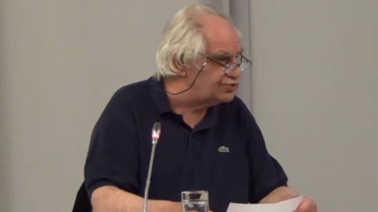 Πέθανε ο καθηγητής του ΑΠΘ Γεράσιμος Βώκος