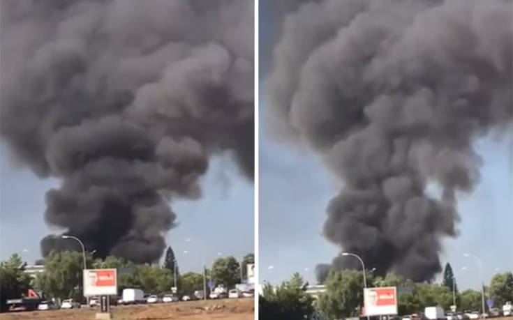Κύπρος: Εργαζόμενος πέθανε σε εργοστάσιο που έπιασε φωτιά. Οι εργαζόμενοι έβγαιναν με δάκρυα στα μάτια