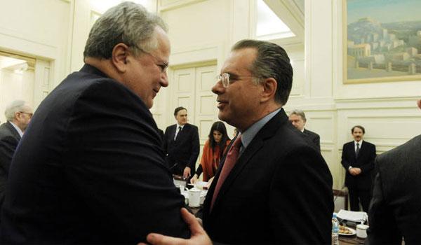 Κόντρα κυβέρνησης-ΝΔ για το Σκοπιανό. Αντιδράσεις στις δηλώσεις Κοτζιά