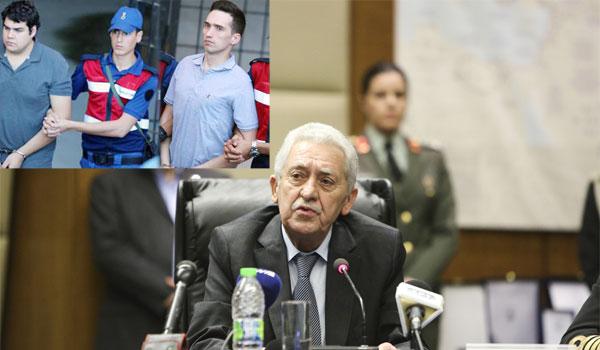 Κουβέλης: Επιλογή Ερντογάν η σύλληψή τους. Ίσως μείνουν προφυλακισμένοι 18 μήνες