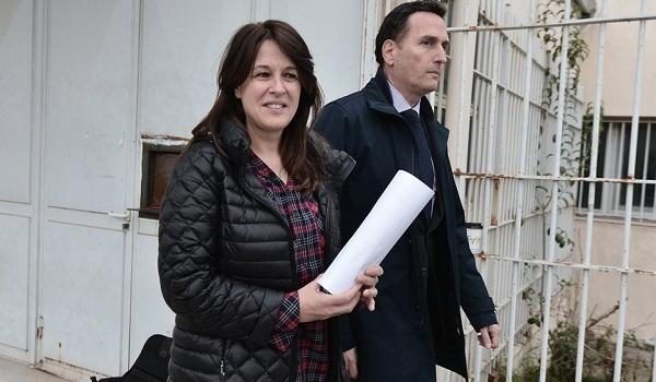 Αποφυλακίστηκε η σύζυγος του Γιάννου Παπαντωνίου, Σταυρούλα Κουράκου