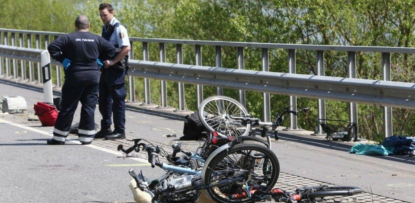 Ποδηλάτης σκοτώθηκε μόλις 100 μέτρα από τον τερματισμό