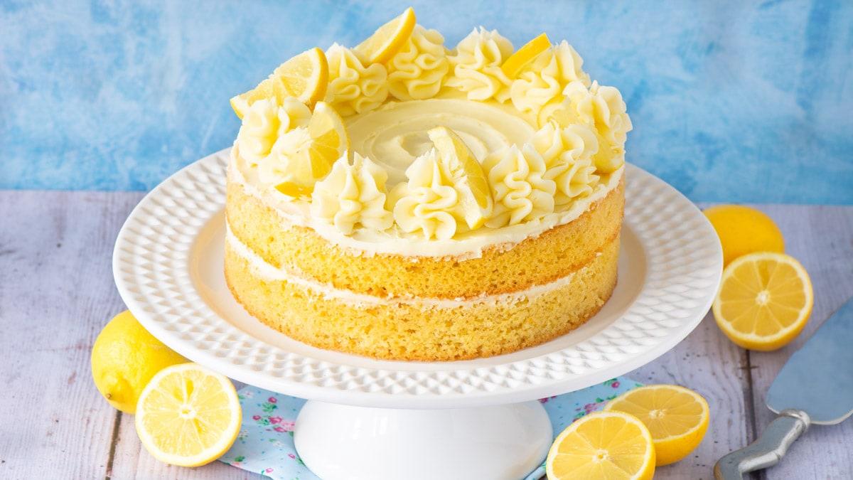 Σπιτικό κέικ λεμόνι
