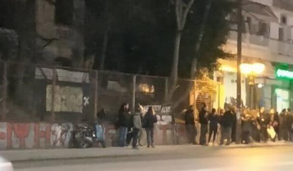 Θεσσαλονίκη: Πορεία για τη συμπλήρωση ενός έτους από τον εμπρησμό της κατάληψης Libertatia
