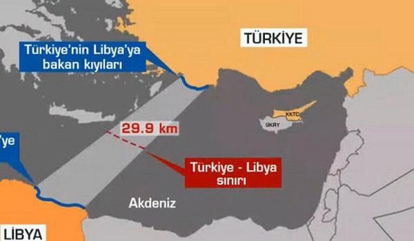 Η Λιβύη έθεσε σε ισχύ τη συμφωνία με την Τουρκία για την ΑΟΖ