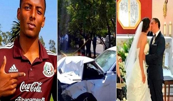 Σοκαριστικό τροχαίο με ποδοσφαιριστή - Σκοτώθηκε νιόπαντρο ζευγάρι
