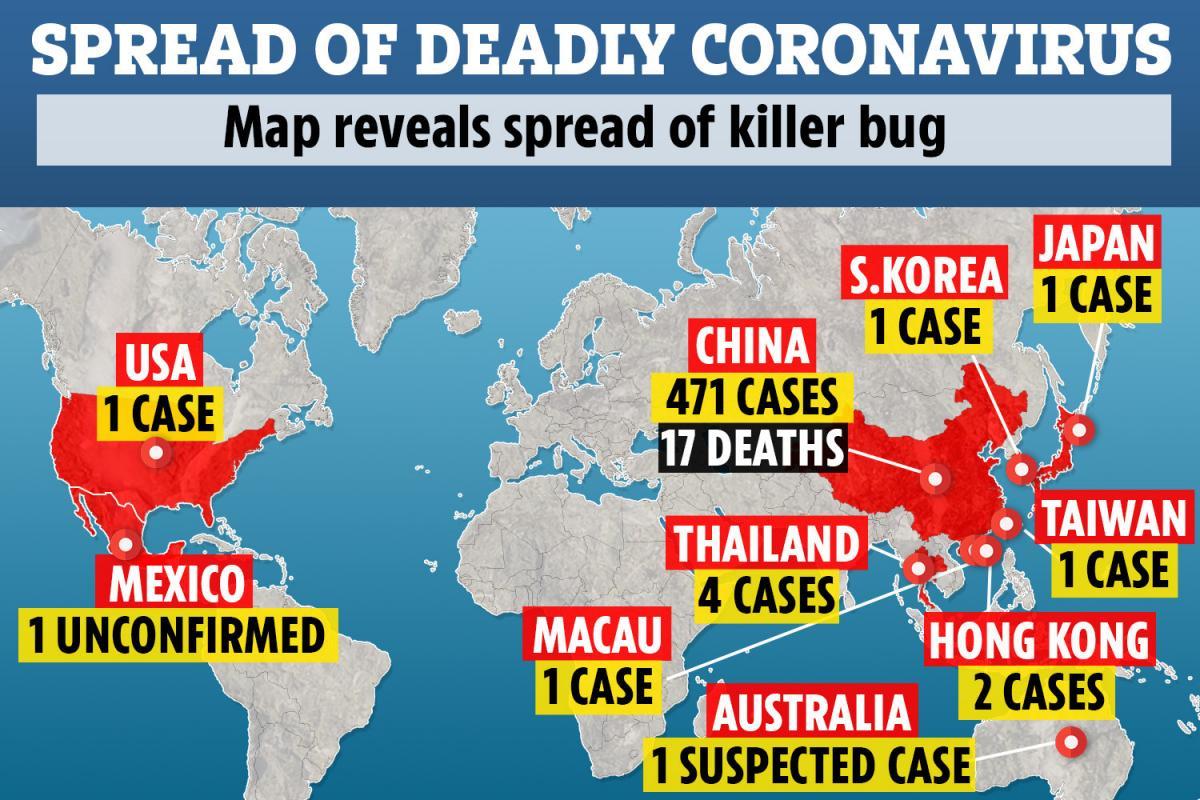 Παγκόσμιος συναγερμός για τον νέο κορονοϊό - Σε ποιες χώρες εμφανίζονται κρούσματα
