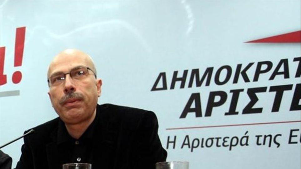 Θεόδωρος Μαργαρίτης: Ιταμή η επιλογή προσχώρησης της ΔΗΜΑΡ στον ΣΥΡΙΖΑ