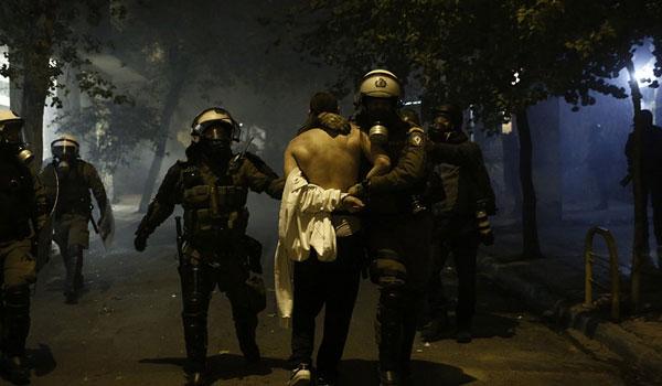 Ελεύθεροι και οι 11 συλληφθέντες μετά την πορεία στην μνήμη του Γρηγορόπουλου