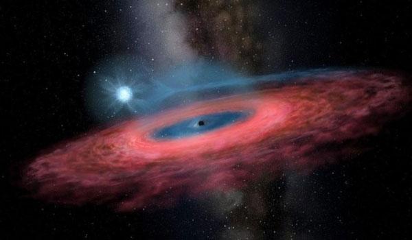 Ανακαλύφθηκε μια απρόσμενα μεγάλη μαύρη τρύπα στον γαλαξία μας