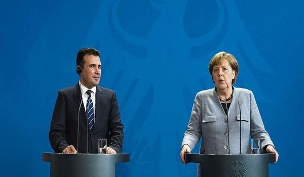 Μέρκελ σε Ζάεφ: Καλωσορίζω τον Μακεδόνα Πρωθυπουργό