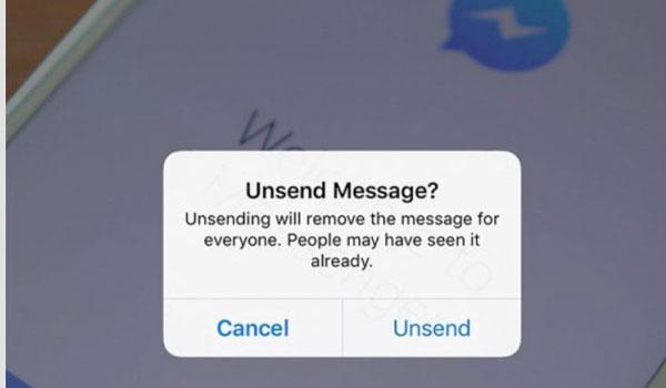 Στείλατε μήνυμα στο messenger και το μετανιώσατε; Μπορείτε να το πάρετε πίσω!