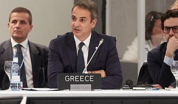 """""""Πρόσκληση"""" Μητσοτάκη σε επενδυτές: Εκμεταλλευτείτε τις ευκαιρίες στην Ελλάδα"""