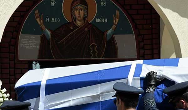 Η Ελλάδα αποχαιρέτησε τον ήρωα σμηναγό. Βίντεο