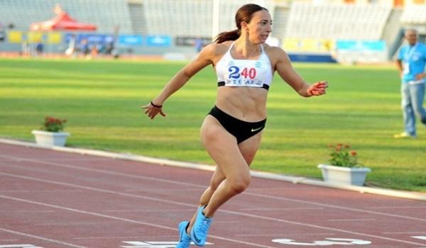 Ασημένια η Μπελιμπασάκη στα 400 μέτρα, στο Ευρωπαικό πρωτάθλημα στίβου