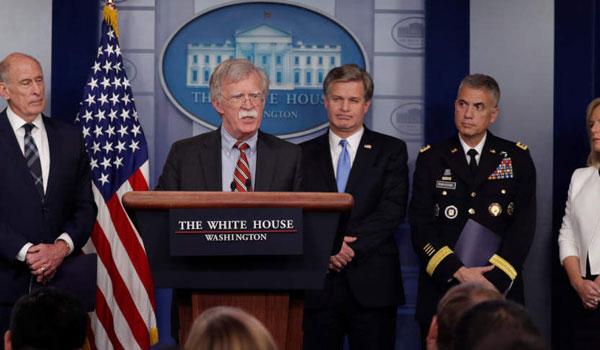 Ο Τραμπ έδιωξε τον σύμβουλο ασφαλείας Τζον Μπόλτον